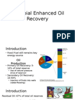 Microbial Enhanced Oil Recovery 1