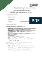 Temas Taller Calculadoras HP 50G - 2012-II