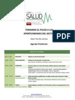 2015 Salud Agenda Preliminar