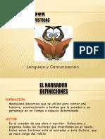 Tipología de Narradores