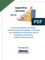 Desempenho dos Bancos - 2014