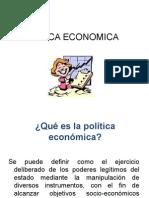 Conceptos de Política Económica