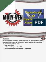 6 Formulación Especialidades Automotrices Ao