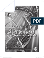Identidad Apostolica Lecciones para Junniors - Copia