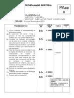 Programa de Auditoria Pa Bb