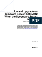 Vcenter Server Heartbeat 66 Installation Upgrade Windows 2008 2012 Virtual Guide