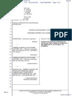 Google Inc. v. American Blind & Wallpaper Factory, Inc. - Document No. 244