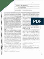 12. Positive Psychology (Seligman, Csikszemtmihalyi)