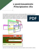 <h1>Wordpress posicionamiento SEO Para Principiantes (En Espanol)</h1>