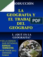 Introduccion - La Geografia y el Trabajo del Geografo