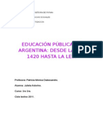 Educacion Publica (Monografia)