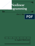 Nonlinear Programming - Olvi L. Mangasarian