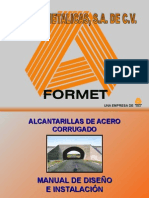 Manual Formet Alcantarillas