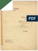 Lekeu - Chanson de Mai pdf