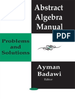 Abstract Algebra Manual_ Problems and Solutions - Badawi.pdf