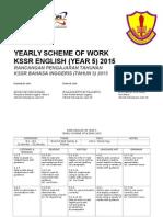 RPT English Yr 5 (SK) 2015 - Yearly Plan