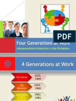 Four Generations at Work