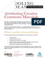Attributing Cc Materials