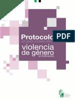 Protocolo Actuacion Sanitaria Ante La Violencia de Genero en Extremadura