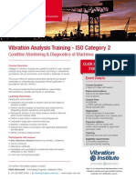 Flyer Vibration Certification ISO Category 2