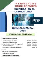 Bioseguridad - Lab Quimica Medica