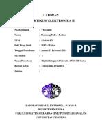 Praktikum Elektronika 2 - MODUL 1
