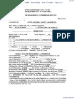 Apple Computer, Inc. v. Podfitness, Inc. - Document No. 22