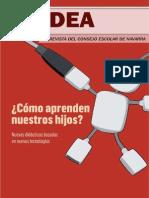 Idea N° 37 La revista del Consejo Escolar de Navarra