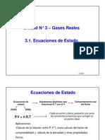 Gases Reales-Ecuaciones de Estado-Para Estudiantes