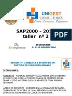 SAP2000 2015 - SESION 2