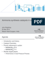06 Ammonia Synthesis Catalyst in Action - March 2015