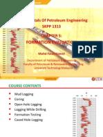 Chapter 5-Formation Evaluation UTM