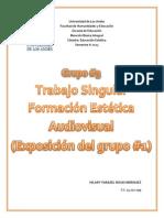 Trabajo Singular F.E. AUDIOVISUAL