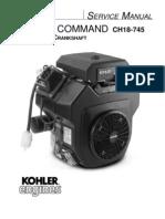 Kohler CH26 Service Manual