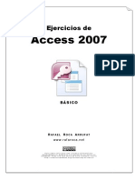 Ejercicios Access 2007 - Básico