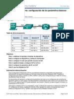 4.1.4.7 Lab - Configuracion Basica Del Router Con CCP