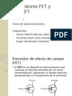 Transistores FET y MOSFET Exposicion