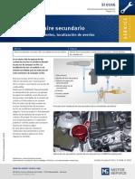 Sistema de Aire Secundario - Estructura, Componentes, Localización de Averías