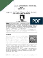 Taller Complementario JAPONÉS BÁSICO I-Cristóbal Muñoz Urtubia