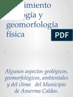 Seguimiento Geología y Geomorfología Física