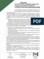 2010 01 25 - RUGGERI - Le Cose Fatte Ed i Progetti Approvati Per La Provincia Di Savona