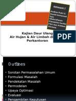 Kajian Daur Ulang Air Hujan & Air Limbah di Distrik Perkantoran