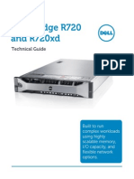 Máy Chủ Trung Tâm PowerEdge Rack Server R720 R720xd Technical Guide April2012