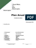 Plan de Cultura 2015 Modificado