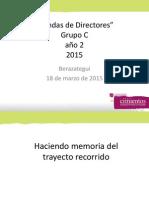 Rondas Directores Cimientos 1-2015