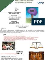 Ética Jueces y Magistrados
