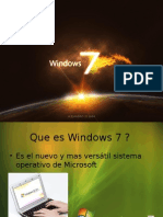 caracteristicas de windows7