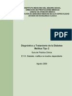 GPC Diagnostico y Tratamiento de La DM
