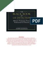 Black Book of Lie Detection