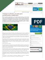 Trabajar en Brasil_ Un Oasis Para Profesionales Cualificados